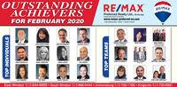 "OUTSTANDINGACHIEVERSRE/MAXRE/MAXPreferred Realty Ltd., BrokerageIndependenty Owned a Operatedwww.remax-preferred-on.comFOR FEBRUARY 2020""Sales Representative ""Broker * Broker of RecordGORAN TODOROVIC**REMAX REFEREDTEAM GORAN REALTYANGIE GOULET*BRAD BONDY*""REMAK PREFERREDTEAM BRAO BONDYJOHN BONDYLIANA MONTALEONEJOHN SAPARDANIS""JACQUES GOULETSHAUN CUSHING""TEAM CUSHMITCHELL DESLUPPEJOHN D'ALIMONTEVINCE PUPATELLONANCI JOHNSTONDORIS LAPICOLOU JOSEPHLIZA ZUIDEMATED YANGMARK TESOLINKEN DUNBARTHERESA FORCIERSAM PETROSROB & DEB ARMITAGEEast Windsor 519-944-5955  South Windsor 519-966-0444  Amherstburg 519-736-1766  Kingsville 519-733-6581TOP INDIVIDUALSTOP TEAMS OUTSTANDING ACHIEVERS RE/MAX RE/MAX Preferred Realty Ltd., Brokerage Independenty Owned a Operated www.remax-preferred-on.com FOR FEBRUARY 2020 ""Sales Representative ""Broker * Broker of Record GORAN TODOROVIC** REMAX REFERED TEAM GORAN REALTY ANGIE GOULET* BRAD BONDY*"" REMAK PREFERRED TEAM BRAO BONDY JOHN BONDY LIANA MONTALEONE JOHN SAPARDANIS"" JACQUES GOULET SHAUN CUSHING"" TEAM CUSH MITCHELL DESLUPPE JOHN D'ALIMONTE VINCE PUPATELLO NANCI JOHNSTON DORIS LAPICO LOU JOSEPH LIZA ZUIDEMA TED YANG MARK TESOLIN KEN DUNBAR THERESA FORCIER SAM PETROS ROB & DEB ARMITAGE East Windsor 519-944-5955  South Windsor 519-966-0444  Amherstburg 519-736-1766  Kingsville 519-733-6581 TOP INDIVIDUALS TOP TEAMS"