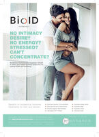 BiolDHORMONESNO INTIMACYDESRE?NO ENERGY?STRESSED?CAN'TCONCENTRATE?Bioidentical hormones are bespokely tailoredto mimic your natural hormone production foroptimal health and well beingBenefits to bioidentical hormonetreatments for men and women:o Improves memory & concentrationo Improves tat loss & muscle toneo Protects against heart diseaseo Decreases skin wrinkleso Improves energy levelso Improves sleepo Improves moodo Improves libidoBROUGHT TO YOu BYAVAILABLE NATIONWIDE AND AT RE ENHANCE, HALEVisit www.bioidhormones.com to discover all our locationsre)enhanceuroconMEDICAL A DENTASCLINIC BiolD HORMONES NO INTIMACY DESRE? NO ENERGY? STRESSED? CAN'T CONCENTRATE? Bioidentical hormones are bespokely tailored to mimic your natural hormone production for optimal health and well being Benefits to bioidentical hormone treatments for men and women: o Improves memory & concentration o Improves tat loss & muscle tone o Protects against heart disease o Decreases skin wrinkles o Improves energy levels o Improves sleep o Improves mood o Improves libido BROUGHT TO YOu BY AVAILABLE NATIONWIDE AND AT RE ENHANCE, HALE Visit www.bioidhormones.com to discover all our locations re)enhance urocon MEDICAL A DENTASCLINIC