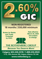 """2-6O""""0.60%GICNON-REGISTERED18 months 