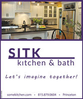 SITKktchen & bathLet's imagine together!somekitchen.com815.879.0604PrincetonSM-PR1759018 SITK ktchen & bath Let's imagine together! somekitchen.com 815.879.0604 Princeton SM-PR1759018