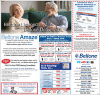Enrollment with aMedicare Advantage orSupplement Plan?BELTONE HONORS ALLPLANS AND PROVIDERSJOHN DOEHOSPITALPARTAPARTJohn DoeBeltone Listened...AetnaHumanaAmerigroupI United Health CareI BCBS AnthemI PROVIDERS:TruHearing Hearing SolutionsCignaAARP/UHCCare-N-CareIBeltone DeliveredCall Beltone toMaximize Your Benefit!Amaze FREE In-Office Amaze TrialPlus $1000 OFFso COPAY HEARING EXAM - FREE LIFETIMECARE WITH ALL PLANS AT BELTONEYou asked for better hearing in noise, virtuallyinvisible, and to never change batteries.Beltone delivers again with the AmazeThe retail price of a set of Beltone Digital Hearing Instruments(2 hearing alds, 500 per ald) Amane Technology on sale starting at $190eBeltone Origin 2i e Beltone Promise P6$250 off per aid $300 off per aidUNBEATABLE PRICEA es tme Meacare does not cover the cost of hearng adsSome supplemental Medicare plans offer a hearing discountas part of tr erett package. However, oe of tese plarsofter or cover long term atercare, but simply 23 post titting vis-sor 90 days of free service then Sses-si2s oor A Detonepatents wii socenve FREE Letme Care with their hearing instruments (S800 vale). This incdes FREE reprogrammingdearing, retesting, in office repais and more replacementsNo Medicare supplement plan offers this benett Betone wigve you al his for FREE ater your onginal benefiSmallest RIE of its kind-wely e-1pagam ingAmaze's sound quality. especially in noise, ia absolutelyunrivaled thanks to its award winning microscopic speechenhancing technology its Bluetooth capability provide youwith the most wireless connectivity available today.It makes traditional hearing aids of the past.Atanot OgerOpen tacckg fas LineCabn Oy-Diedenel MephoreloaneBeltone Ally 3 64D e Beltone Legend 6 630i $450 off per aid i $500 off per aidI Wireless AdjustingBeltone! Wireless StreamingPho WeSning-Lng ega fee CeBatahNotanneHelping the world hear bettern Se18 Months0% InterestwacYou asked for great savings, values, and trybefore you buy. and Beltone delivers again!CALL For Your FREE Hearing ConsultationDdoru Monphoe Rag S| You TubeFREG HEARING CONSULTATIONIs it hearingloss, or...beltone.comODESSA CLINIC4011 JBS Parkway Odessa, Texas 79762432-934-0072Amaze Technology is rated SUPERIOR in: Background Noise: Amazingly Increases Speech Clarity in Noise Recharging up to 30 hours Cosmetic AppealWireless Bluetooth for iPhone: Android, TV and Music Water and Moisture resistant Remote Care: Get your hearing aids adjusted fromthe comfort of your own home Same Day Fit FREE Lifetime CareIs It hust Earwax?FREE at BehoneVideo Otoscope CheckMIDLAND CLINIC4519 N. Garfield, Suite 8, Midland, Texas 797052 Is It Your Middlleor Inner Ear?FREE at BekoneFree Clean and Check432-741-30293 Do You MissSome Words?BIG SPRING CLINIC104 W. Marcy Drive, Big Spring, Texas 79720432-271-3907FREE at BetoneSound Field Test4 Do You MissCertain Sounds?FREE at 9BehonePure-Tone TestSNYDER CLINIC2703 College Ave. , Snyder, TX 79549325-515-5233FEDERAL WORKERS...DO YOU NEED HEARING AIDS?Hear The BeltoneBeltone Hearing Centers of The Permian Basin is offering.Do you have a BCBS card? If so...FREE at BeltoneDigital DemonstrationDigital Difference.PremiumALREADY WEARING HEARING AIDS?Hearing Free CleanAldRepairhearing aids atZERO COST toNo Co-Pay! No Exam Fee!No Adjustment Fee!$119ALPINE CLINIC402 E. Holland Ave., Alpine, TX 79830Trade In Ofer$1400and RxCheckfederal workersCALL TODAY!and retireest432-299-3542302115 Enrollment with a Medicare Advantage or Supplement Plan? BELTONE HONORS ALL PLANS AND PROVIDERS JOHN DOE HOSPITAL PARTA PART John Doe Beltone Listened... Aetna Humana Amerigroup I United Health Care I BCBS Anthem I PROVIDERS: TruHearing Hearing Solutions Cigna AARP/UHC Care-N-CareI Beltone Delivered Call Beltone to Maximize Your Benefit! Amaze FREE In-Office Amaze Trial Plus $1000 OFF so COPAY HEARING EXAM - FREE LIFETIME CARE WITH ALL PLANS AT BELTONE You asked for better hearing in noise, virtually invisible, and to never change batteries. Beltone delivers again with the Amaze The retail price of a set of Beltone Digital Hearing Instruments (2 hearing alds, 500 per ald) Amane Technology on sale starting at $190 eBeltone Origin 2i e Beltone Promise P6 $250 off per aid $300 off per aid UNBEATABLE PRICE A es tme Meacare does not cover the cost of hearng ads Some supplemental Medicare plans offer a hearing discount as part of tr erett package. However, oe of tese plars ofter or cover long term atercare, but simply 23 post titting vis- sor 90 days of free service then Sses-si2s oor A Detone patents wii socenve FREE Letme Care with their hearing in struments (S800 vale). This incdes FREE reprogramming dearing, retesting, in office repais and more replacements No Medicare supplement plan offers this benett Betone wi gve you al his for FREE ater your onginal benefi Smallest RIE of its kind -wely e -1pagam ing Amaze's sound quality. especially in noise, ia absolutely unrivaled thanks to its award winning microscopic speech enhancing technology its Bluetooth capability provide you with the most wireless connectivity available today. It makes traditional hearing aids of the past. Atanot Oger Open tacckg fas Line Cabn Oy -Diedenel Mephore loane Beltone Ally 3 64D e Beltone Legend 6 630 i $450 off per aid i $500 off per aid I Wireless Adjusting Beltone ! Wireless Streaming Pho We Sning -Lng ega fee Ce Batah No tanne Helping the world hear better n Se 18 Months 0% Interest wac You asked for great savings, values, and try before you buy. and Beltone delivers again! CALL For Your FREE Hearing Consultation Ddoru Monphoe Rag S | You Tube FREG HEARING CONSULTATION Is it hearing loss, or... beltone.com ODESSA CLINIC 4011 JBS Parkway Odessa, Texas 79762 432-934-0072 Amaze Technology is rated SUPERIOR in:  Background Noise: Amazingly Increases Speech Clarity in Noise  Recharging up to 30 hours  Cosmetic Appeal Wireless Bluetooth for iPhone: Android, TV and Music  Water and Moisture resistant  Remote Care: Get your hearing aids adjusted from the comfort of your own home  Same Day Fit  FREE Lifetime Care Is It hust Earwax? FREE at Behone Video Otoscope Check MIDLAND CLINIC 4519 N. Garfield, Suite 8, Midland, Texas 79705 2 Is It Your Middlle or Inner Ear? FREE at Bekone Free Clean and Check 432-741-3029 3 Do You Miss Some Words? BIG SPRING CLINIC 104 W. Marcy Drive, Big Spring, Texas 79720 432-271-3907 FREE at Betone Sound Field Test 4 Do You Miss Certain Sounds? FREE at 9Behone Pure-Tone Test SNYDER CLINIC 2703 College Ave. , Snyder, TX 79549 325-515-5233 FEDERAL WORKERS...DO YOU NEED HEARING AIDS? Hear The Beltone Beltone Hearing Centers of The Permian Basin is offering. Do you have a BCBS card? If so... FREE at Beltone Digital Demonstration Digital Difference. Premium ALREADY WEARING HEARING AIDS? Hearing Free Clean Ald Repair hearing aids at ZERO COST to No Co-Pay! No Exam Fee! No Adjustment Fee! $119 ALPINE CLINIC 402 E. Holland Ave., Alpine, TX 79830 Trade In Ofer $1400 and Rx Check federal workers CALL TODAY! and retireest 432-299-3542 302115