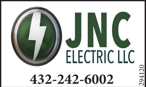 JNCELECTRIC LLC432-242-6002294120 JNC ELECTRIC LLC 432-242-6002 294120