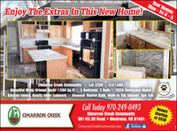 Tour HomesMon - Fri 8-5Enjoy The Extras In This New Home!Lot 3209 - $141,000PETPRENDEYCimarron Creek CommunityKitchen Island, Knotty Alder Cabinets - Glamour Master Bath, Walk-in Tile Shower, Spa TubCall Today 970-249-0493COMMUNITYBeautiful Wrap Around Deck! 1,588 Sq FR - 3 Bedroom, 2 Bath - 2020 Fleetwood HomeHomesStartingat $93KCimarron Creek Community901 65.30 Road  Montrose, CO 81401facebookCIMARRON CREEKlike usCimarronCreekCommunity.com Tour Homes Mon - Fri 8-5 Enjoy The Extras In This New Home! Lot 3209 - $141,000 PETPRENDEY Cimarron Creek Community Kitchen Island, Knotty Alder Cabinets - Glamour Master Bath, Walk-in Tile Shower, Spa Tub Call Today 970-249-0493 COMMUNITY Beautiful Wrap Around Deck! 1,588 Sq FR - 3 Bedroom, 2 Bath - 2020 Fleetwood Home Homes Starting at $93K Cimarron Creek Community 901 65.30 Road  Montrose, CO 81401 facebook CIMARRON CREEK like us CimarronCreekCommunity.com
