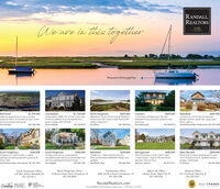 """RANDALL,REALTORSWeare in this togetherLeading#weareinthistogether$1,799,900North KingstownWaterfront. Views of the Cove & WickfordHarbor from this 3 bed 2 bath Ranch withwalkout basement.RichmondCharlestownHome built in 2005 3 br 25 ba in the main$1,125,000S695,000CranstonIn the heart of Edgewood, this fourbedroom house has both presence andpotential.$429,000WakefieldIn-town 3 br, 2 ba Colonial Victorian.Modern kitchen, stone fplc, large shed.Move right in.$399,900Lifetime opportunity to own a privatepreserve within 15 minutes of open oceanand surrounding salt ponds.Chris Randalhouse w additional accommodations inguest cottage with full bath.Patricia Stamps857.540.1594401.932.0678Sue Moore401.952.9164Brian McDonald401.258.9814Paul Robinson/Marc Archambault 401.207.5768South Kingstown2 bedroom, 2 bath Condo in estatesetting overlooking beautiful grounds &Silver Lake.$350,000Wakefield3 bedroom 1 bath Colonial near theheart of downtown Wakefield. Many newupdates.Sheil Realty Team$369,000South KingstownTumkey ranch sits on supersized lotrenovated inside and out to be transformed$339,800NarragansettPlan for summer in this 2 bed 1 bath,1 level Condo. Close to Bonnet Shore,beaches, Narrow River.$285,000West WarwickGreenview Condos abutting golf course.2 br 2.5 bath end unit, updated kitchen,garage, hardwoods.Liz Shalvey$254,900into the quintessential beach house.Chris RandallPaul Robinson/Marc Archambault 401.207.5768857.540.1594401.265.5044Marianne Liebman401.871.4711401.641.2822North Kingstown Office23 Brown Street, North Kingstown, RI401.294.4000Westerly Office241 Post Road, Westerly, RI401.322.0357Charlestown OfficeSouth Kingstown Office235 Main Street, Wakefield, R401.783.96114009 Old Post Road, Charlestown, RI401.364.3388Watch Hill Office124 Bay Street, Watch Hill, RI401.348.0700RandallRealtors.comLeadingLUNURYPORTFOLIOREALTRENDSREAL ESTATECOMPANIESETHE WORLeFIVE H ENDRE""""Source RIMLS 1 Real Estate Company Jan. 1, 1991-0ec. 31, 2019 RANDALL, REALTORS Weare in this tog"""