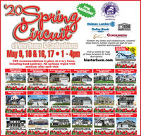 20SpringJEFFERON STARxINDUSTRYFreeAdmission!STARK&EASTCENTRAL OHOBIASTARKECO.cOMHolmes Lumber HBicuitSTARKTRUSSThe Lumberyard For ProfessionolDollar Bank.CONSUMERSNational BankEmser TileNineteen new homes and condominiums, scatteredabout Stark & Summit counties are open for yourinspection and enjoyment.of New Homes & CondominiumsMay 9, 10 & 16, 17  1-4pmMAY 16& 17 ONLYCharis Homes330-575-8545Visit us online for mapof house locations & homedescriptions.biastarkeco.comCDC recommendations in place at every home,including hand sanitizer. All surfaces wiped withsanitizer after each visit.Kng's e Green431 Amberley Drive, nlontown asSEM Construction330-605-6549Old World Classics LLC330-494-0228Great Lakes Land Const. LLC216-469-5432Aurora Custom Homes330-837-2500Kauth Custom Bullder330-832-6770Hostetler Family Homes330-877-1836Kng's Ridge Green306 Ashwel Court nlontown 44sKngs Ridge Green478 Broadley Circle Delontewn sFulten Landings347 Alis Lans Canal Futen 444The Meadows of Scetsbury JecksenE2 Seotabury en SI MassilonThe Meadows of Scotsbury Jakson tw872 Soutsbury len S Massillen 44Relling Green Eatates Jackson Tpse23 cubview St Mansilion 44sRegal Construction Co.330-966-1197Ryan Homes330-809-0185TriDoc Homes330-830-6607Smith Homes330-244-9080Patrick Long Homes, Ltd.330-899-417112Patrick Long Homes, Ltd.330-899-41711310Lake 0Springs Vilage Jackson TwpS71 Westlaka i Canten 447iaJackson Park Place Jackson Twg.3281 Jacksen Park W, Mansen4The Villas at Augusta Lakes193 rle Crown Crcle S, Massillon 44Cloverleat South Lake12207 Markat Av Rartville 42Wicker Creek -Autume Ridge Massillon Twp300 ire Bunh Drive NH, Masen7920 Peder Crcle NE, Canton 44721Patrick Long Homes, Ltd.330-899-417114Classic Custom Homes &Remodeling  234-804-357317M. A. Lemmo Homes Inc.VictoryGate Custom Homes330-408-7656VictoryGate Custom Homes330-408-7656Blythe Construction330-478-3954330-497-1290151819Ode Stone Crossing  Lake202 Ledgestone Drive lotewn 44sThe Sanctuary0 Pckdorde Dr NE, North Canton 44720T