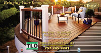 Bringing Your Imagination to Life!GenuineTrexDecking 18 Colors!Railing 7 Colors!Ready for Immediate Delivery!TLOTREATED LUMBER OUTLET5501 City Line Road Bldg, #4, Newport News, VA 23607757-245-9241Treated Lumber OutetMonday thru Friday 7 a.m.-5 p.m. Iwww.treatedlumberoutlet.comB8B Bringing Your Imagination to Life! Genuine Trex Decking 18 Colors! Railing 7 Colors! Ready for Immediate Delivery! TLO TREATED LUMBER OUTLET 5501 City Line Road Bldg, #4, Newport News, VA 23607 757-245-9241 Treated Lumber Outet Monday thru Friday 7 a.m.-5 p.m. Iwww.treatedlumberoutlet.com B8B