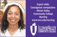 Expert skills.Courageous compassion.Illinois ValleyCommunity CollegeNursingwww.ivcc.edu/nursingILLINOISVALLEYCOMMUNITY COLLEGESM-LA1772642 Expert skills. Courageous compassion. Illinois Valley Community College Nursing www.ivcc.edu/nursing ILLINOISVALLEY COMMUNITY COLLEGE SM-LA1772642