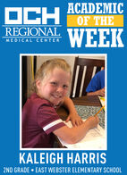 OCH ACADEMICOF THEREGIONALWEEKMEDICAL CENTERKALEIGH HARRIS2ND GRADE  EAST WEBSTER ELEMENTARY SCHOOL OCH ACADEMIC OF THE REGIONAL WEEK MEDICAL CENTER KALEIGH HARRIS 2ND GRADE  EAST WEBSTER ELEMENTARY SCHOOL