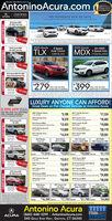 "Boows OuR DioTAL LOT ATAntoninoAcura.comAo rtEper CtmeSarvey Dealer 20CERTIFIEDNO PAYMENTS FOR 90 DAYSACURA2018 Acura MOxSH-AWD Tech Pg37,245Sport ty2020 Acura2020 Acura8 SpeedDual-Clutch20187 Acura MOXSH-AWDSH-AWD Tech PgTLXMDX YDAH3LJNW9 Speed Auto(UBIF3LJW)37,476ST saSpeed Aut2019 Acura MOX SH-AWDTech & Entertainment PaFEATURIO STANDARO LIASELOALTCONGUST LUAS279MO. FOR 36 MOs.$2409 DUE AT SIGNING399MO. FOR 36 MOs.$2999 DUE AT SIGNINGST141,546Sport tyLUXURY ANYONE CAN AFFORD!Great Deals on Pre-Owned Vehicles at Antonino Acura0.99% APR SOFOR UPON ROX AND TLX CERTIFIED2007 Nissan Versa$3,199 DAS2017 Honda Accord$17,334$18,482PRE-OWNED MÓDELS.FOR WELL QUALIFIED YERS18 K2012 Honda Civie2017 Acura TLx9,370 24 Tedvokg Paage2018 Acura ROXSH-AWD2013 Acura MOXTechnology Package HAND2015 Lexus IS 250$13,423 O8$19,6992016 Honda AccordLESR72015 Acura MOx13,668 1Tech Pg SHAND RO$20,1792017 Honda Civie$14,4192017 Acura RDX$20,591ST 3123,897Spnedutaloonny2017 HyundaiTucson Limited AWD2015 HondaCivic LX2015 HondaCRV LX AWD2015 RAM1500 Tradesman eWD2018 Acura ROXSH-AWD Advance Pg$11,610 ers$15,051$18,699 ema$21,7252017 Honda Accord2016 Acura MOx$15,612 13ANO$15,977 B$23,179$31,5772017 Acura ILX2018 Honda Accord HybridSpeed kudaSoenuy$23,3982017 Acura ILX$16,2992017 Acura RDxechnolog Package AND$24,6352019 Acura ROXSH-AWD Tech Pkg2014 Acura MOX2016 Acura MOX3. Tonoingy Package SHAND TSIS16,444 18 SAortan Pu Pg SHANO RSA. ""24,8662015 Acura TLx2018 Acura MOX16,558 18Abarce Earaimet Pg SANO KOTS. ""38,0382016 Acura2017 Acura TLX2017 Acura RDXTLX 242.4L BaseBase SHAWD2016 AcuraMDX AWD Tech PkgSTSpeet AuSport unity$33,081promfrandal Sevice-Cened$16,398 eNn$17,783 121,768 ersa$24,866Antonino Acura(860) 448-1299 AntoninoAcura.com340 GOLD STAR Hwy, GROTON, CT 06340COMMUNITYSTRONGACURACERTIFIEDCERTIFIEDCERTIFIEDCERTIFIEDCERTIFIEDCERTIFIED Boows OuR DioTAL LOT AT AntoninoAcura.com Ao rt Eper Ctme Sarvey Dealer 20 CERTIFIED NO PAYMENTS FOR 90 DAYS ACURA 2018 Acura MOx SH-AWD Tech Pg 37,245 Spo"