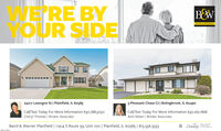E'RE BYOUR SIDEB&WBAIRD & WARNER24217 Lavergne St | Plainfield, IL 605853 Pheasant Chase Ct | Bolingbrook, IL 60490Call/Text Today For More Information 630.788.5050Cheryl Thomas | Broker AssociateCall/Text Today For More Information 630.267.1868Amii Nilsen | Broker AssociateBaird & Warner Plainfield | 11914 S Route 59, Unit 100 | Plainfield, IL 60585 | 815.556.3333LeadingREAL ESTATECOMPANIESTHE WORLDSM-CLITTM13 E'RE BY OUR SIDE B&W BAIRD & WARNER 24217 Lavergne St | Plainfield, IL 60585 3 Pheasant Chase Ct | Bolingbrook, IL 60490 Call/Text Today For More Information 630.788.5050 Cheryl Thomas | Broker Associate Call/Text Today For More Information 630.267.1868 Amii Nilsen | Broker Associate Baird & Warner Plainfield | 11914 S Route 59, Unit 100 | Plainfield, IL 60585 | 815.556.3333 Leading REAL ESTATE COMPANIES THE WORLD SM-CLITTM13