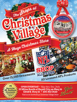 The Shops atChristmasVillageDAKOTASOUTHMOUNT RUSHMORENATIONAL MEMORIALMOSFOUA Huge Christmas StoreNFLSHOPOver 15,000 OrnamentsALL TEAMSik All Licensed NFL Products# 1Source forMt. RushmoreOrnamentsNumerousStylesOPEN EVERYDAY  May thru Dec. 24th10 Miles South of Rapid City on Hwy 1613648 S. Hwy 16 605-343-3440Find us on Facebook @ Christmas Village StoreLove il The Shops at Christmas Village DAKOTA SOUTH MOUNT RUSHMORE NATIONAL MEMORIAL MOSFOU A Huge Christmas Store NFL SHOP Over 15,000 Ornaments ALL TEAMS ik All Licensed NFL Products # 1 Source for Mt. Rushmore Ornaments Numerous Styles OPEN EVERYDAY  May thru Dec. 24th 10 Miles South of Rapid City on Hwy 16 13648 S. Hwy 16 605-343-3440 Find us on Facebook @ Christmas Village Store Love il