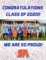 CONGRATULATIONSCLASS OF 2020!!WE ARE SO PROUD!SA CONGRATULATIONS CLASS OF 2020!! WE ARE SO PROUD! SA