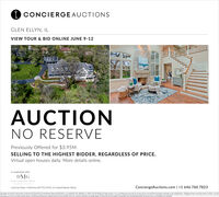 I CONCIERGEAUCTIONSGLEN ELLYN, ILVIEW TOUR & BID ONLINE JUNE 9-12AUCTIONNO RESERVEPreviously Offered for $3.95M.SELLING TO THE HIGHEST BIDDER, REGARDLESS OF PRICE.Virtual open houses daily. More details online.In cooperation with:DMGDAWA MCKENNA CROUPListed by Dawn J McKenna (#477012442) of Coldwell Banker RealtyConciergeAuctions.com | +1 646.760.7823stedor sa yCn Ma C a kety - L AR ceThe sens reeder l rees of steecongeteessa andsal h o tfor en os or i nderabeooktte i Conceree Atom C andhes Actoneerand sndontwant o pCamtarcs in thsoy et ng norinr y stalme ant k t kotion for btnsfroken.a nArton S ansdta I CONCIERGEAUCTIONS GLEN ELLYN, IL VIEW TOUR & BID ONLINE JUNE 9-12 AUCTION NO RESERVE Previously Offered for $3.95M. SELLING TO THE HIGHEST BIDDER, REGARDLESS OF PRICE. Virtual open houses daily. More details online. In cooperation with: DMG DAWA MCKENNA CROUP Listed by Dawn J McKenna (#477012442) of Coldwell Banker Realty ConciergeAuctions.com | +1 646.760.7823 stedor sa yCn Ma C a kety - L AR ce The sens reeder l rees of stee congeteessa andsal h o tfor en os or i ndera beooktte i Conceree Atom C and hes Actoneerand sndontwant o p Camtarcs in thsoy et ng norinr y stalme ant k t kotion for btnsfroken.a n Arton S ansdta