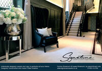 Symatnea division of Custom Carpet CompanyIndividually designed carpets and rugs, to perfectly suit your interior.Designed, handcrafted and made in West Yorkshire.Factory Showroom & Sussex Showroom, by appointment only.www.signaturecarpets.co.uk01422 412756 Symatne a division of Custom Carpet Company Individually designed carpets and rugs, to perfectly suit your interior. Designed, handcrafted and made in West Yorkshire. Factory Showroom & Sussex Showroom, by appointment only. www.signaturecarpets.co.uk 01422 412756