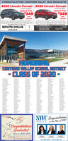 CONGRATULATIONS CHARTIERS VALLEY 2020 GRADUATES2020 Lincoln Corsair 2020 Lincoln CorsairVin#SLLUL12431Vin#2LLBL13152Leae For$349Lease For$349permonth36 MONTH LEASE 2 So0 MLES PER YEAR S299s CASH OR TRADE ROUTYDOWN NGLUDES COMPETITIVE CONGueST FACTORY REATE TOTAL DUEAT SIGNING-SI4E SECURITY DEPOSIT WAVED. OFFER EXPRES Sa20permonth6 MONTH LEASE so0 MLES PER YEAR S2 CASH OR TRADEeEOUITY DOWN INCLUOES PREMIUM COMPETIIVE CONGUEST RACTORYATE TOTAL DUE AT SONNGS SECURITY DEPOT WAVEDOFFER EXPRES SIwao OR CHOOSE OS APR for up to 0monthaOR CHOOSE ON APR er vete 0 monheSOUTH HILLSLINCOLNOUTOUTH IT nSOUTHHSMILLAGE412-563-22001-888-369-8502Sou HELSLACOLNNCOLNCHARTIERS VAIEY HGH SCHOOLHONGCLASS OF 2020-Dyda dwMavnahayMATHNASIUMe hemeSWC Congratulationste the Class of 2020ins RreREALTYW CoGo ColtstCongratulationsGraduates/Class of CUSD 20201400gt y wenCeReCanwh m724.206.2300 | swcrealty.com CONGRATULATIONS CHARTIERS VALLEY 2020 GRADUATES 2020 Lincoln Corsair 2020 Lincoln Corsair Vin#SLLUL12431 Vin#2LLBL13152 Leae For $349 Lease For $349 per month 36 MONTH LEASE 2 So0 MLES PER YEAR S299s CASH OR TRADE ROUTY DOWN NGLUDES COMPETITIVE CONGueST FACTORY REATE TOTAL DUE AT SIGNING-SI4E SECURITY DEPOSIT WAVED. OFFER EXPRES Sa20 per month 6 MONTH LEASE so0 MLES PER YEAR S2 CASH OR TRADEe EOUITY DOWN INCLUOES PREMIUM COMPETIIVE CONGUEST RACTORY ATE TOTAL DUE AT SONNGS SECURITY DEPOT WAVED OFFER EXPRES SIwao OR CHOOSE OS APR for up to 0montha OR CHOOSE ON APR er vete 0 monhe SOUTH HILLS LINCOLN OUTOUTH IT n SOUTHHS MILLAGE 412-563-2200 1-888-369-8502 Sou HELS LACOLN NCOLN CHARTIERS VAIEY HGH SCHOOL HONG CLASS OF 2020- Dy da d w Mavn ahay MATHNASIUM e heme SWC Congratulations te the Class of 2020 ins Rre REALTY W Co Go Coltst Congratulations Graduates/ Class of CUSD 2020 1400gt y wen Ce ReCan wh m 724.206.2300 | swcrealty.com