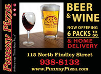 "BEERAbeu""ThinkE &WINESays.PunxsyPizz814.938.8132NOW OFFERING6 PACKS 8GO& HOMEDELIVERY115 North Findley Street938-8132www.PunxsyPizza.comPunxsy PizzaAnthony says ""Think About Pizza"" BEER Abeu ""Think E &WINE Says. Punxsy Pizz 814.938.8132 NOW OFFERING 6 PACKS 8  GO & HOME DELIVERY 115 North Findley Street 938-8132 www.PunxsyPizza.com Punxsy Pizza Anthony says ""Think About Pizza"""
