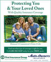 Protecting You& Your Loved OnesWith Quality Insurance CoveragePersonal  Commercial  Farm  LifeFind out what type of coverage is right for you.Call 630-552-3447 today for your FREE quote.Auto-Owners.O First Insurance GroupPlano  Sandwich  DeKalb  RockfordINSURANCELIFE · HOME · CAR · BUSINESS Protecting You & Your Loved Ones With Quality Insurance Coverage Personal  Commercial  Farm  Life Find out what type of coverage is right for you. Call 630-552-3447 today for your FREE quote. Auto-Owners. O First Insurance Group Plano  Sandwich  DeKalb  Rockford INSURANCE LIFE · HOME · CAR · BUSINESS