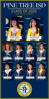PINE TREE ISDCLASS OF 2020TOP TEN STUDENTSA Tradition rfCor All1 ExcellenceA TraditxcellenceA TrVALEDICTORIANASHLY JAMESSALUTATORIANISABELLA NIXA Traditio For Allfor AA TaditionAD AAllFor AREBEKAH DONNELLAINSLEY DAUGRJERGOLIVIA WALTONGABRIELLE COPE4 Tradition o ce For Allfor All4 Tradition oAFor ACALLISTA HARROLDTAYLOR TOLIVERSTERLING BEAKLEYLUKE OXSHEERSCHOOL1847PIRATESPINE TREEDISTRICT PINE TREE ISD CLASS OF 2020 TOP TEN STUDENTS A Tradition rf Cor All 1 Excellence A Tradit xcellence A Tr VALEDICTORIAN ASHLY JAMES SALUTATORIAN ISABELLA NIX A Traditio For All for A A Tadition AD A All For A REBEKAH DONNELL AINSLEY DAUGRJERG OLIVIA WALTON GABRIELLE COPE 4 Tradition o ce For All for All 4 Tradition o A For A CALLISTA HARROLD TAYLOR TOLIVER STERLING BEAKLEY LUKE OXSHEER SCHOOL 1847 PIRATES PINE TREE DISTRICT