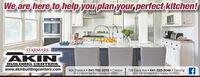 We are here to help you plan your perfect kitchen!STARMARKCABINETRYAKINBUILDING CENTERSwww.akinbuildingcenters.com604 Sheldon  641-782-3310  CrestonM-F 7:30-5  Sat 8-4  Sunday CLOSED726 Davis Ave  641-322-3046  CorningM-F 7:30-5  Sat 8-12  Sunday CLOSED We are here to help you plan your perfect kitchen! STARMARK CABINETRY AKIN BUILDING CENTERS www.akinbuildingcenters.com 604 Sheldon  641-782-3310  Creston M-F 7:30-5  Sat 8-4  Sunday CLOSED 726 Davis Ave  641-322-3046  Corning M-F 7:30-5  Sat 8-12  Sunday CLOSED