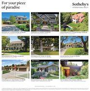 For your pieceSotheby'sofparadiseINTERNATIONAL REALTYNEW PRICE4910Vineta.com | La Canada Flintridge | $5.500.000MAUREEN HOLLINGSWORTH 626.396.3904510Palmetto.com | Pasadena | $4.895.000GRETCHEN B. SEAGER 626.616.8146ChevyChaseEstate.com | La Canada Flintridge | $3,895.000MICHAEL B. BELL 626.354.8505NEW LISTING830SouthMadison.com | Pasadena | $2,885.000MARK JERUSALEM 310.600.7585501Campesina.com | Arcadia | $2.198.000JOHN & TAMMY FREDRICKSON 626.688.9890935 Alta Vista Drive | Arcadia | $1.598,000ANNIE WANG 626.628.4310NEW LISTINGNEW LISTING315SanPasqual.com | South Pasadena | $1.299,888CHRISTINA DREYER-SHYMKOVICH 626.688 3948MonroviaCraftsman.com | Monrovia | S899,000FLEMING TRIPLE TRAINOR 626.660.41863041 Via Maderas Street | Altadena | $895.000JOSEPH REED 626 437 0887. LINDA ZINN 626.396.3980PASADENA BROKERAGE | SOTHEBYSREALTY.COMCsahety's intomtional Re inc. Ail righeened. Sctheby's Itemational Realtyisaredtemitrakomak Operatodly Soheby's lemaknal Realy, bnc. Real ee agenes afikted weh Sotheby's temanal Realny, inc. are independent corrales aocites ndarect employeesofSocheb's nemurinal Real Inc. 1iqual kuing Orpomuniny SIR DRE Agrnt DREx Mlauron ingonthe Cinichen Sager n Michael kll 9 Mark Jenalem khn edrickion Anie Wangaa Chridna eryor Skonkhleming Trainor Rioo neph Reediog lammy Fmdikon s linda Zinn For your piece Sotheby's of paradise INTERNATIONAL REALTY NEW PRICE 4910Vineta.com | La Canada Flintridge | $5.500.000 MAUREEN HOLLINGSWORTH 626.396.3904 510Palmetto.com | Pasadena | $4.895.000 GRETCHEN B. SEAGER 626.616.8146 ChevyChaseEstate.com | La Canada Flintridge | $3,895.000 MICHAEL B. BELL 626.354.8505 NEW LISTING 830SouthMadison.com | Pasadena | $2,885.000 MARK JERUSALEM 310.600.7585 501Campesina.com | Arcadia | $2.198.000 JOHN & TAMMY FREDRICKSON 626.688.9890 935 Alta Vista Drive | Arcadia | $1.598,000 ANNIE WANG 626.628.4310 NEW LISTING NEW LISTING 315SanPasqual.com | South Pasadena | $1.299,888 CHRISTINA DREYER-SHYMKOVICH 626.688 3948 MonroviaCraftsman.co