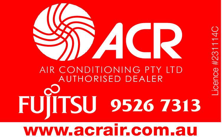 ACRAir Conditioning Pty LtdAuthorised DealerFujitsu9526 7313www.acrair.com.auLicence #231114CAIR CONDITIONING PTY LTD