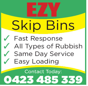 Skip BinsFast ResponseAll Types of RubbishSame Day ServiceEasy LoadingContact Today:0423485339