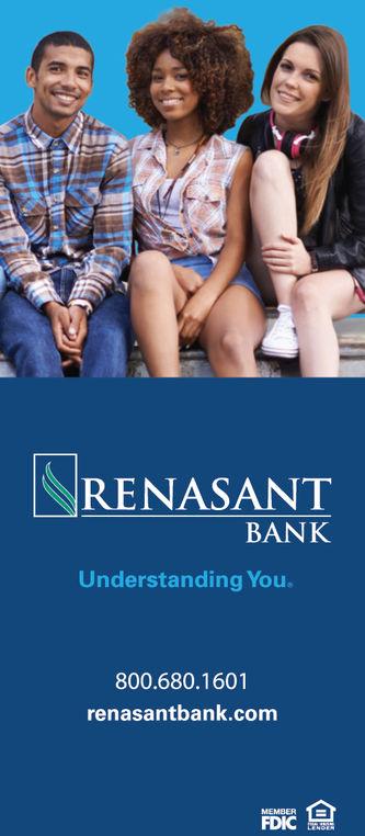 RENASANTBANKUnderstanding You800.680.1601renasantbank.comMEMBERTDIC