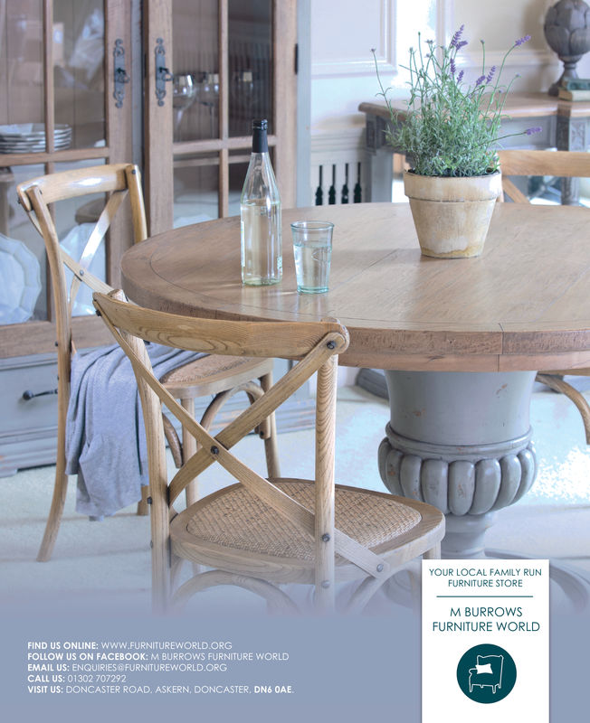 t:YOUR LOCAL FAMILY RUNFURNITURE STOREM BURROwsFURNITURE WORLDFIND US ONLINE: WWW.FURNITUREWORLD.ORGFOLLOW US ON FACEBOOK: M BURROWS FURNITURE WORLDEMAIL US: ENQUIRIES FURNITUREWORLD.ORGCALL US: 01302 707292VISIT US: DONCASTER ROAD. ASKERN, DONCASTER, DN6 0AE.