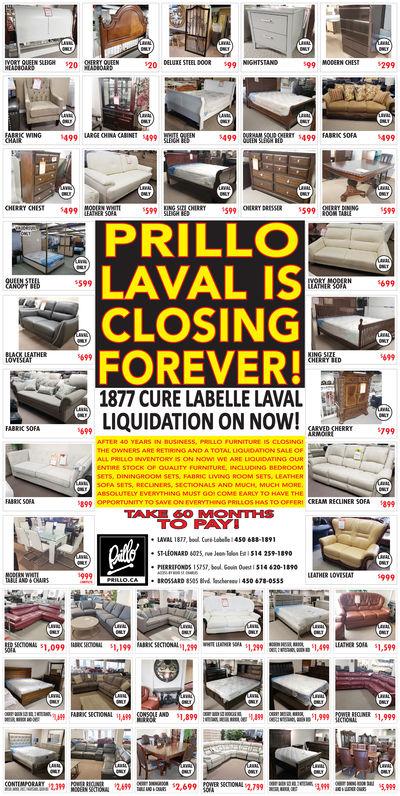 Saturday April 27 2019 Ad Prillo Montreal Gazette