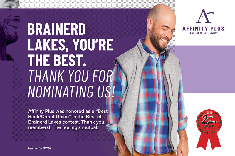 Thursday October 3 2019 Ad Affinity Plus Federal Credit Union Brainerd Dispatch