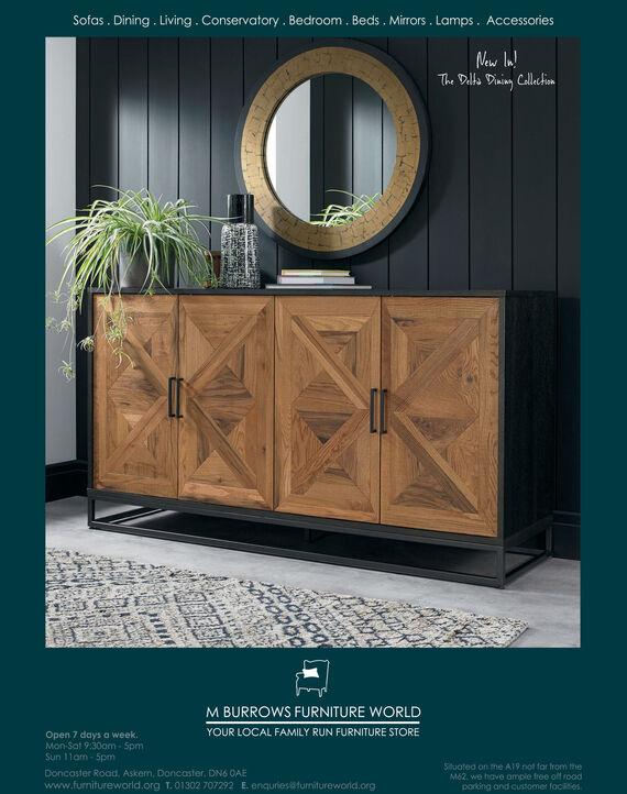 Sunday October 20 2019 Ad M Burrows Furniture World Yorkshire Life