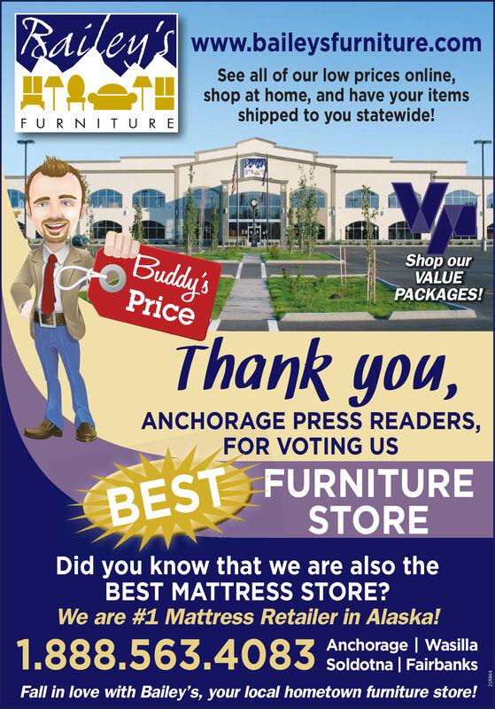 Furniture Anchorage, Bailey's Furniture Anchorage Ak