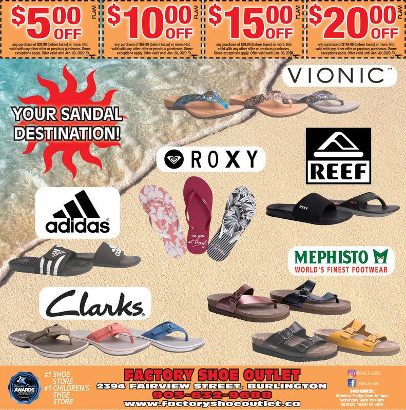 Thursday January 16 2020 Ad Factory Shoe Outlet Flamborough Review