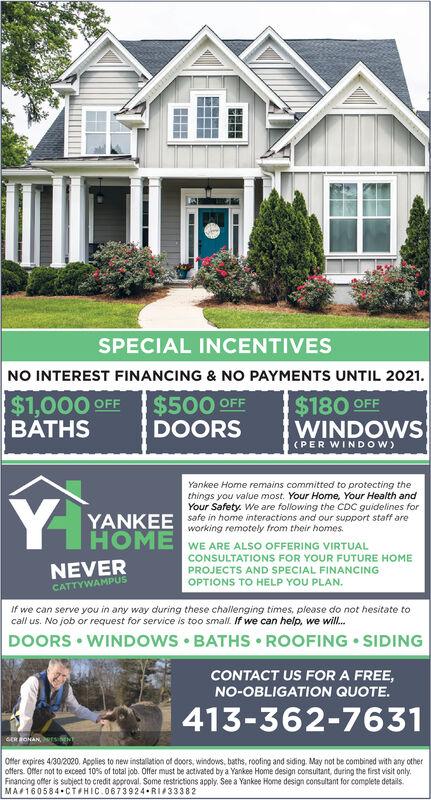 Saturday April 11 2020 Ad Yankee Home Improvement Masslive