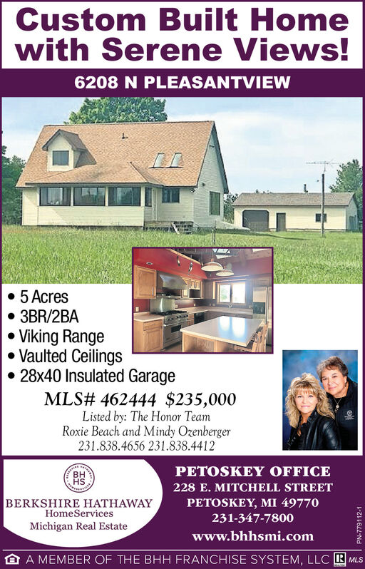 Friday August 14 2020 Ad Berkshire Hathaway Homeservices Michigan Real Estate The Petoskey News Review