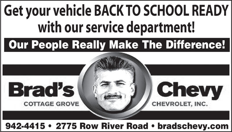 Wednesday September 23 2020 Ad Brad S Cottage Grove Chevrolet Gmc Cottage Grove Sentinel