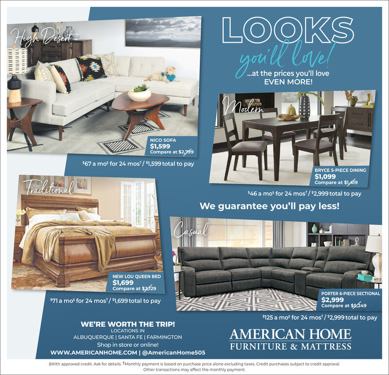 Wednesday June 9 2021 Ad American, American Home Furniture And Mattress