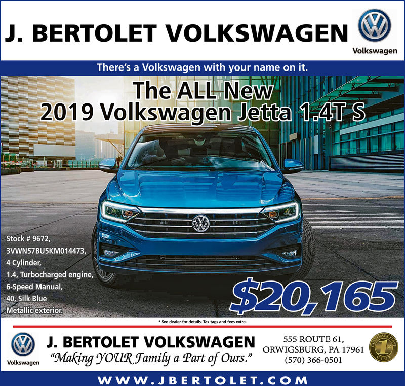 tuesday july 3 2018 ad j bertolet volkswagen the republican herald the republican herald business directory