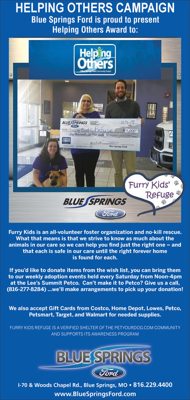 Saturday November 24 2018 Ad Blue Springs Ford Examiner
