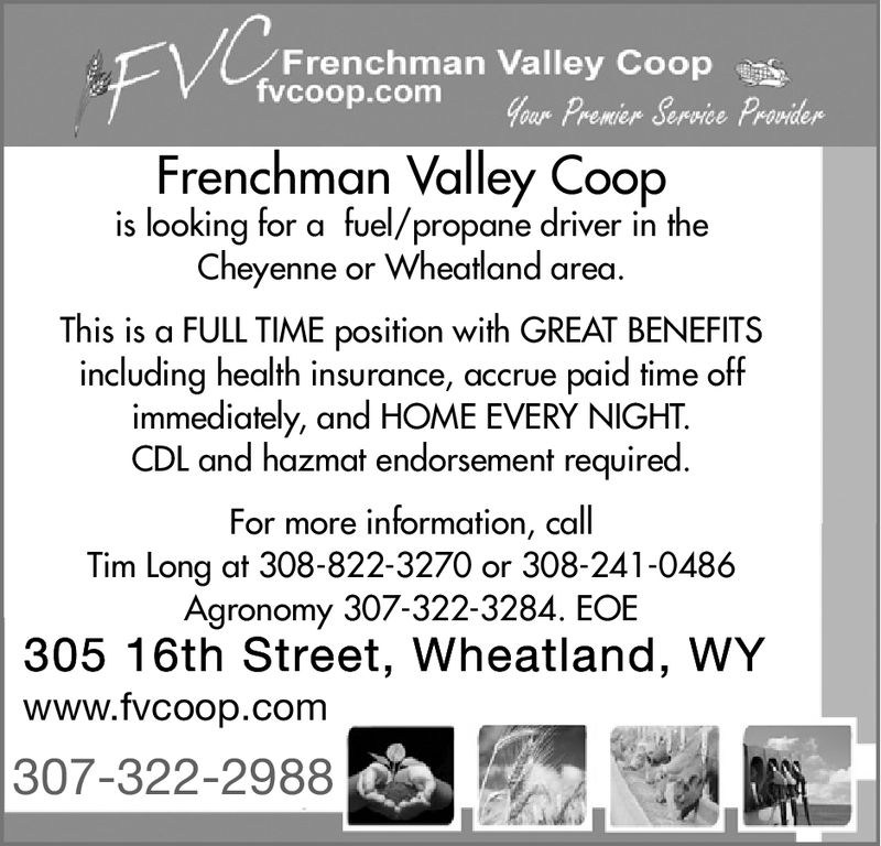 FRIDAY, FEBRUARY 22, 2019 Ad - Frenchman Valley Coop ...