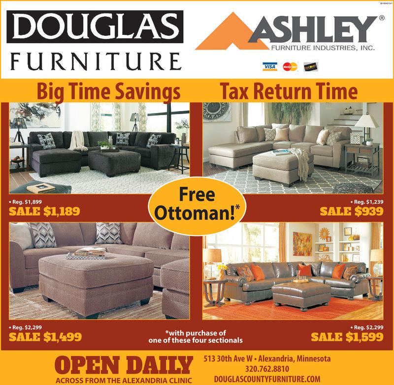 2019 Ad Douglas Furniture Echo, Douglas Furniture Alexandria Mn