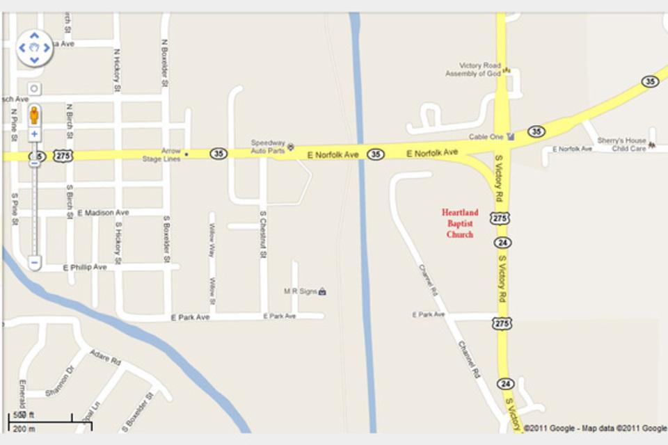 Heartland Baptist Church - Religion - Religious Organizations in Norfolk NE