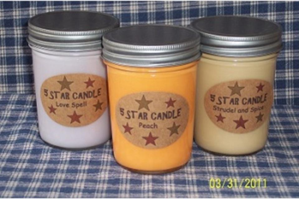 5 Star Candle - Shopping - Home Furnishings in Warfordsburg PA