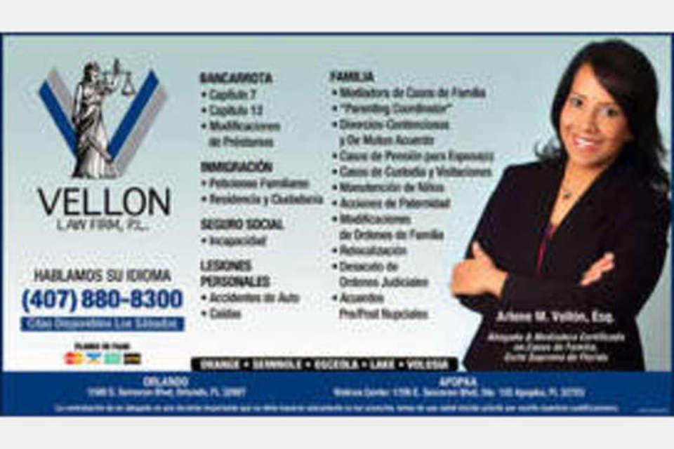 Vellon Law Firm - Legal - Attorneys in Apopka FL