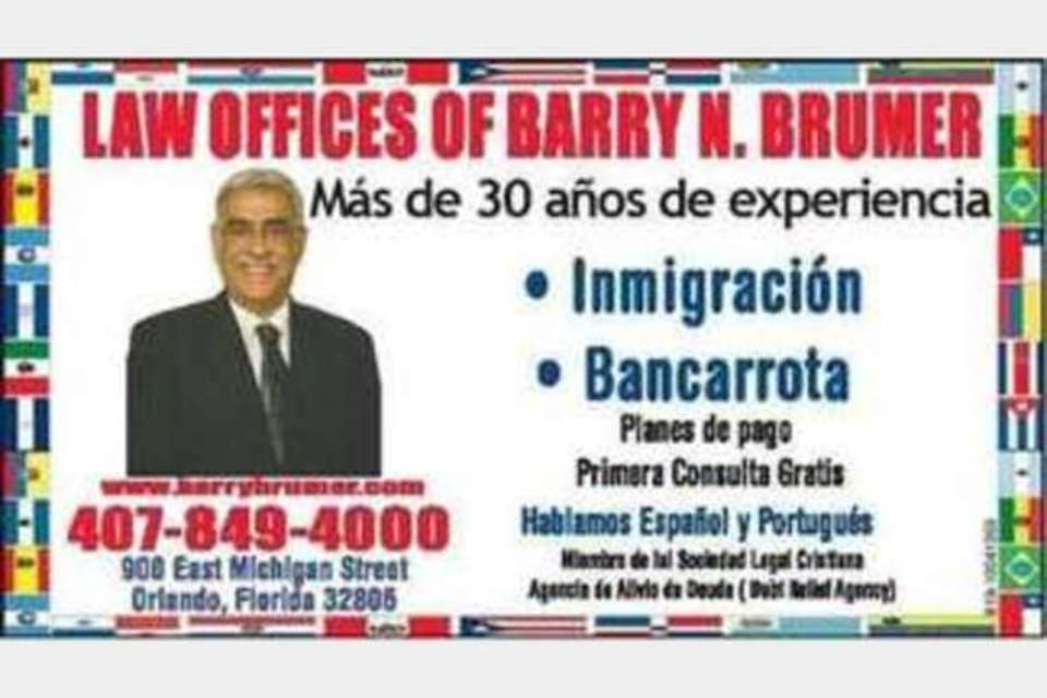 Law Offices of Barry N. Brumer - Legal - Attorneys in Orlando FL