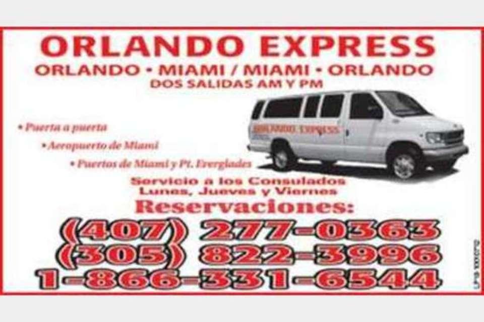 Orlando Express - Viajes - Tránsito público in Miami FL