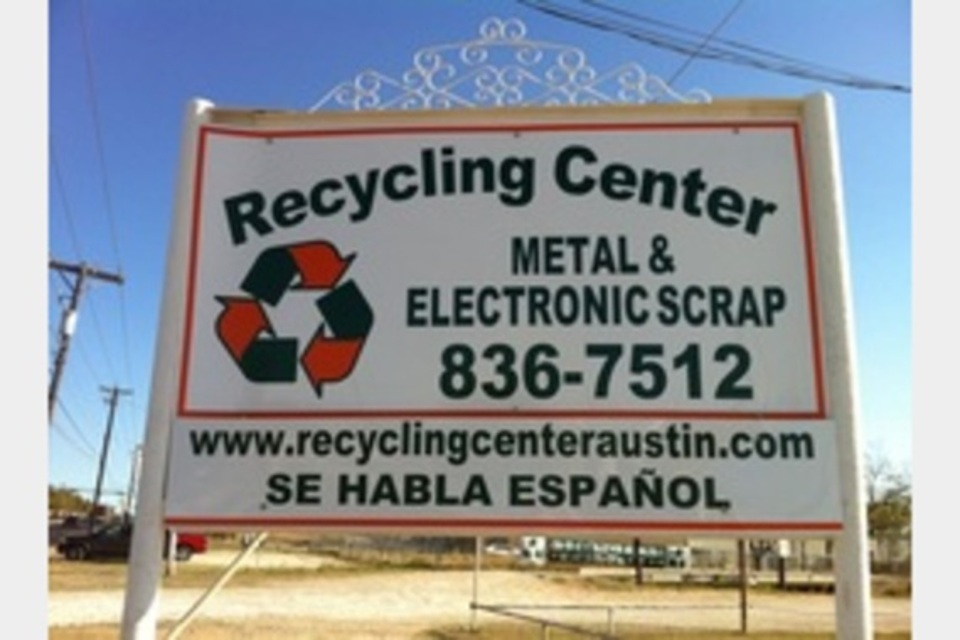 Recycling Center - Services - Environmental Quality in Austin TX
