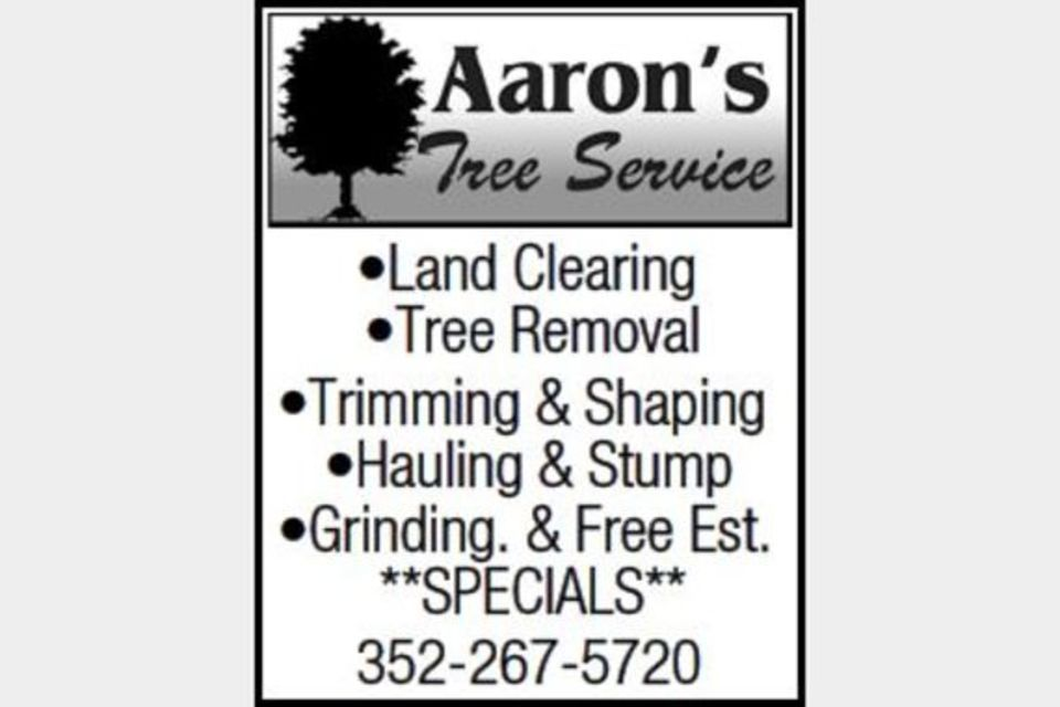 Aaron's Tree Service - Services - Landscaping in Grand Island FL