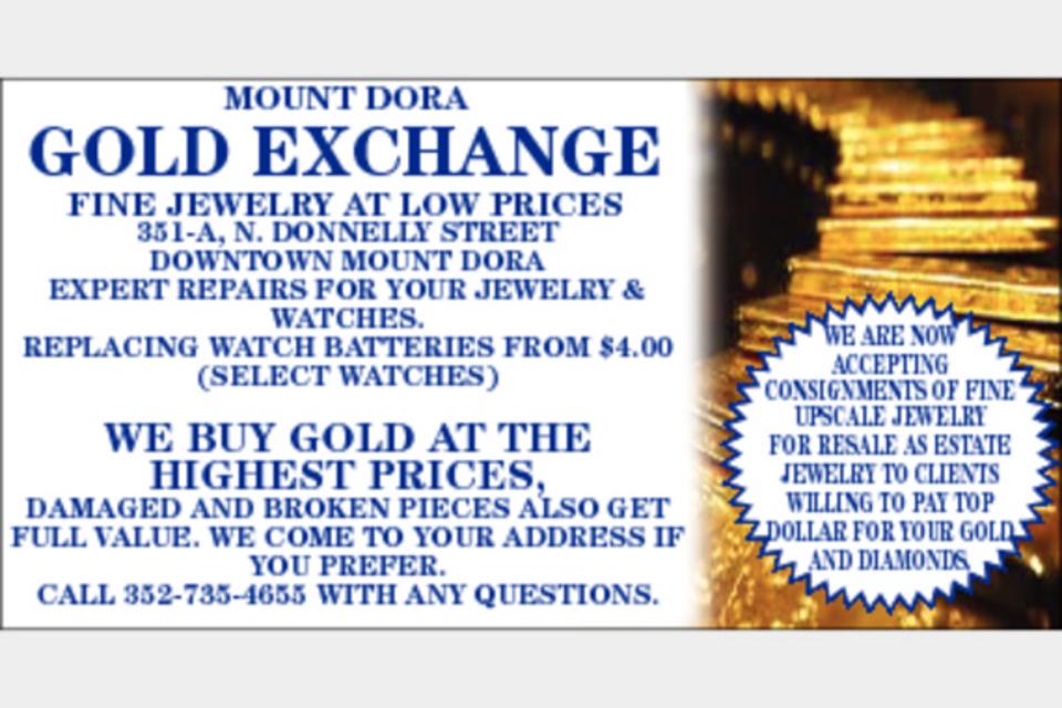 Mount Dora Gold Exchange - Shopping - Jewelry in Mount Dora FL