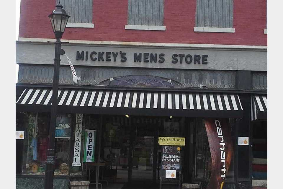 Mickey's Men's Store - Shopping - Retail Clothing in Waynesburg PA